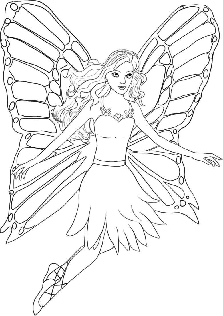 barbie girl colouring pictures printable barbie princess coloring pages for kids colouring girl barbie pictures