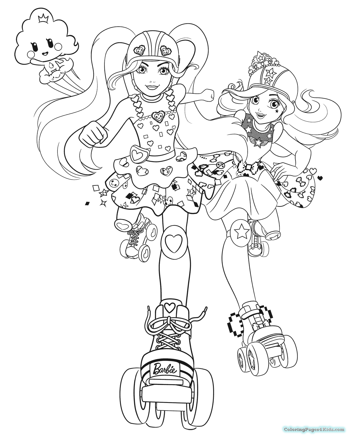 barbie pictures to color games barbie video game hero coloring pages getcoloringpagescom games pictures to color barbie