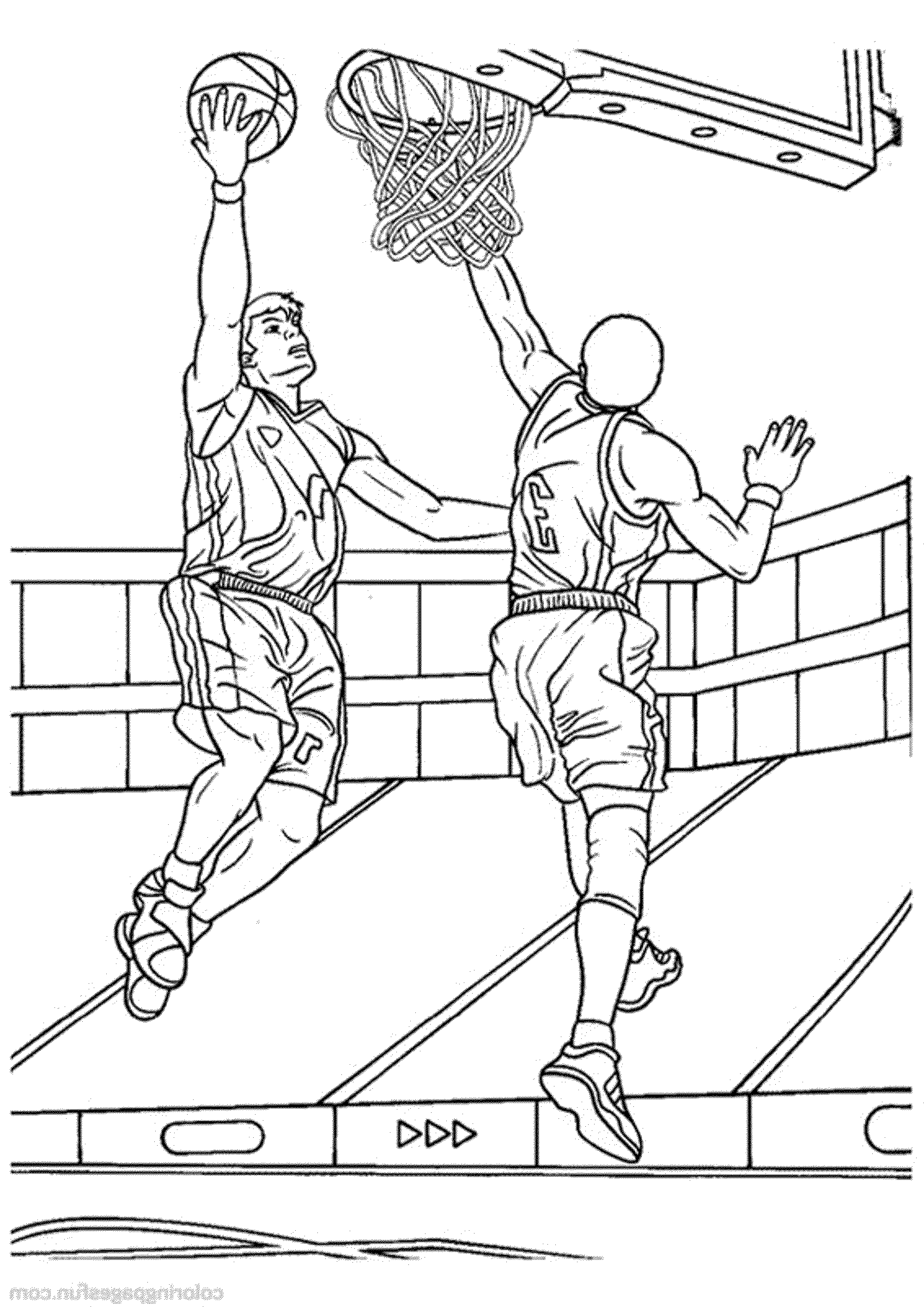 basketball pictures to color basketball coloring pages getcoloringpagescom to color pictures basketball