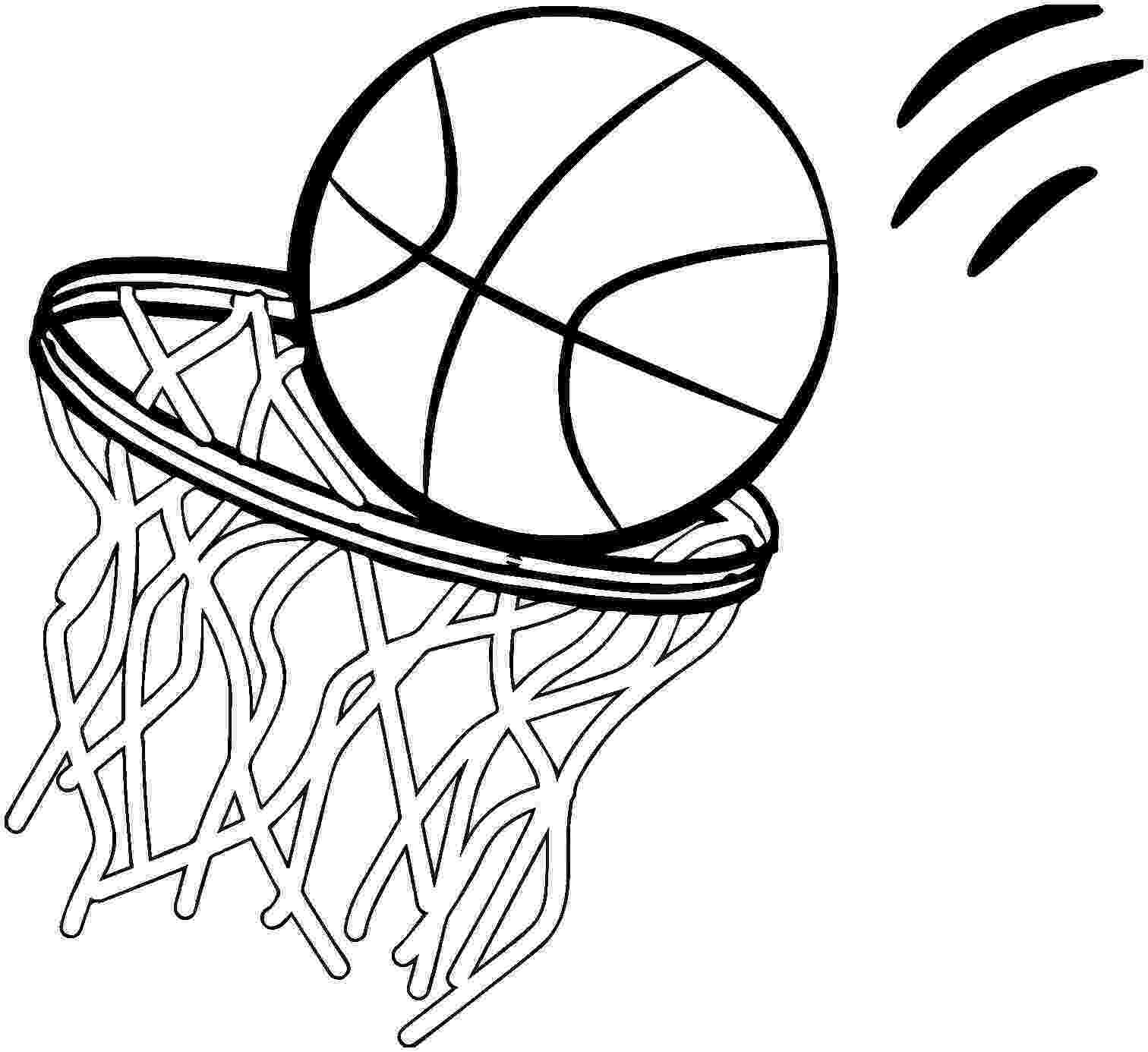 basketball pictures to color free coloring sheet of basketball for kindergarten color basketball to pictures