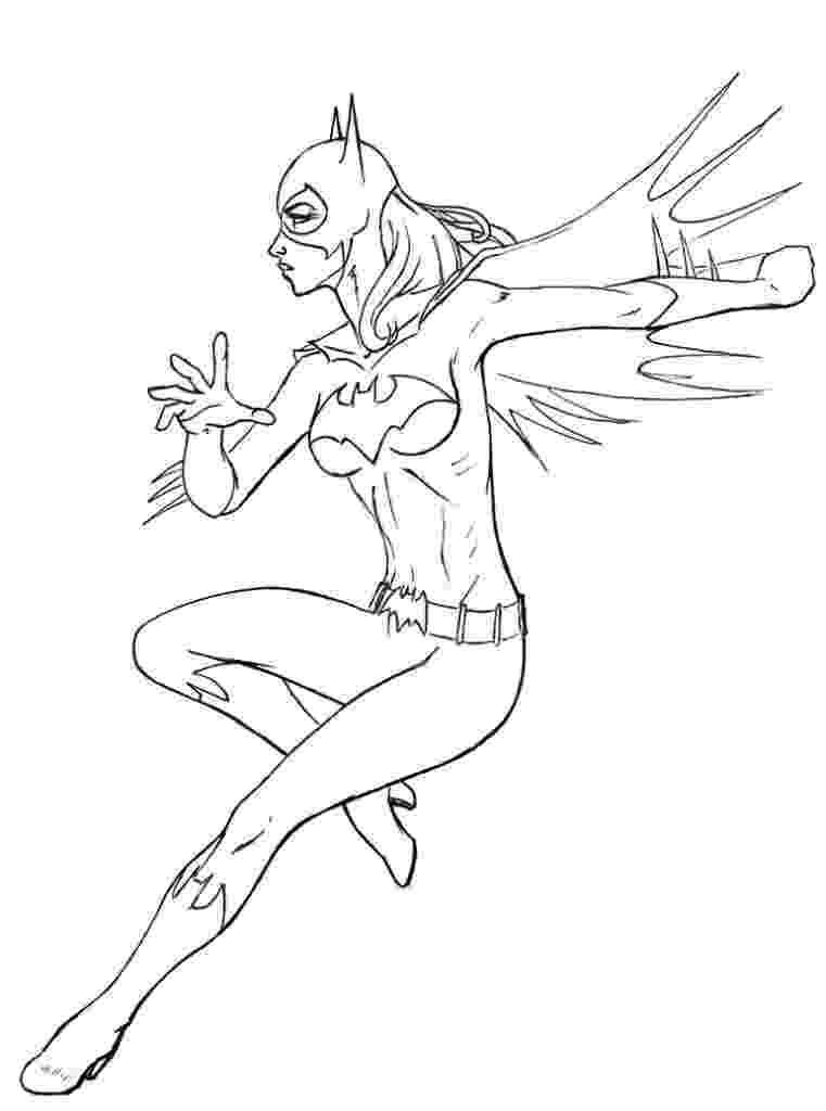 batgirl coloring page batgirl coloring pages to download and print for free batgirl coloring page 1 1