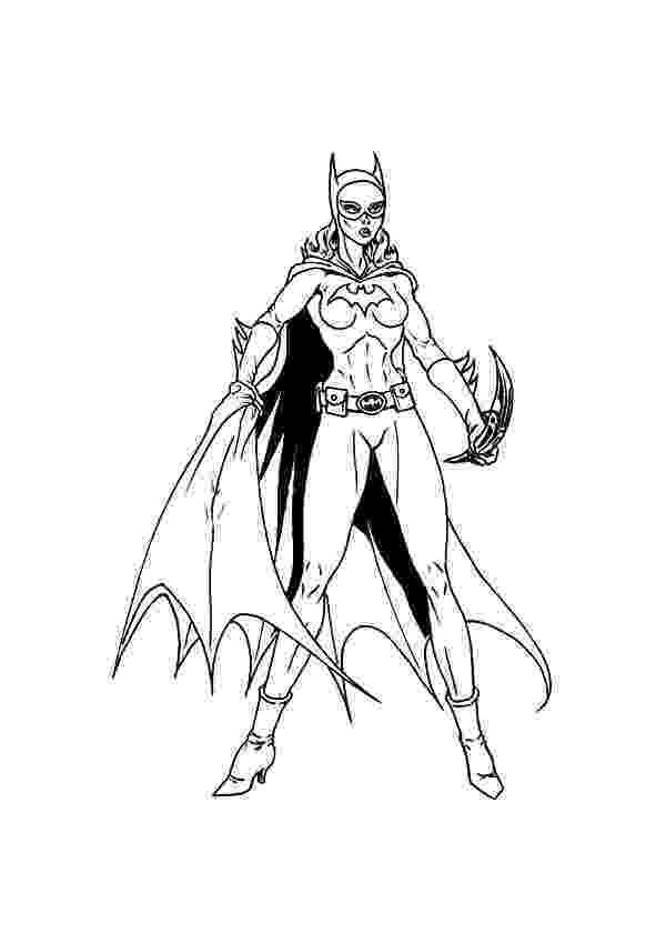 batgirl coloring page free printable batgirl coloring pages for kids page batgirl coloring 1 2