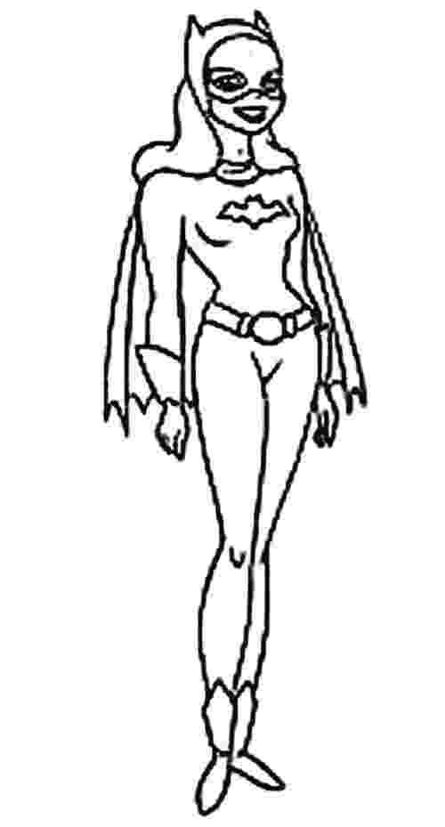 batgirl coloring page super heros coloring pages momjunction page batgirl coloring