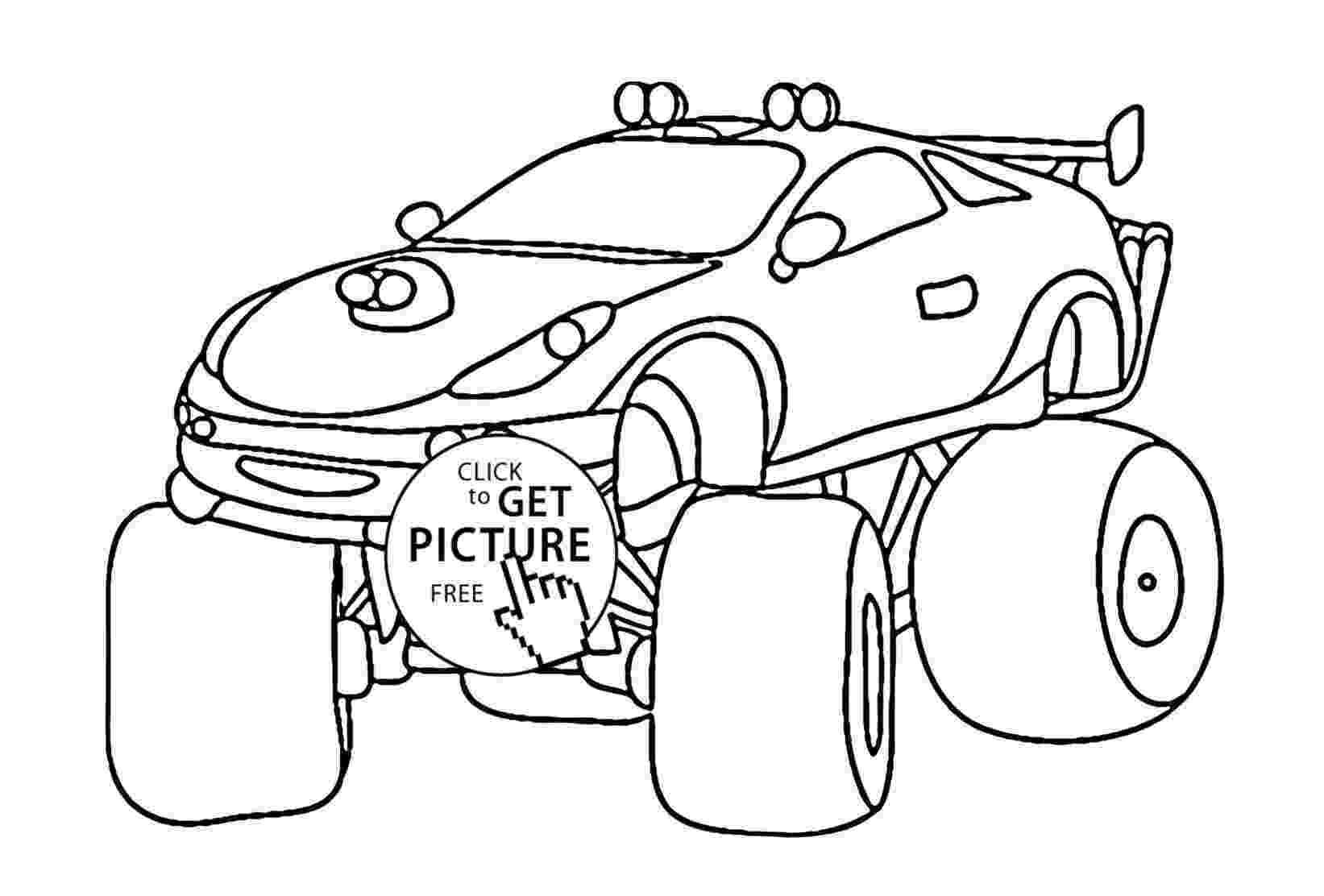 batman monster truck zombie monster truck målarbok gratis målarbilder att batman monster truck