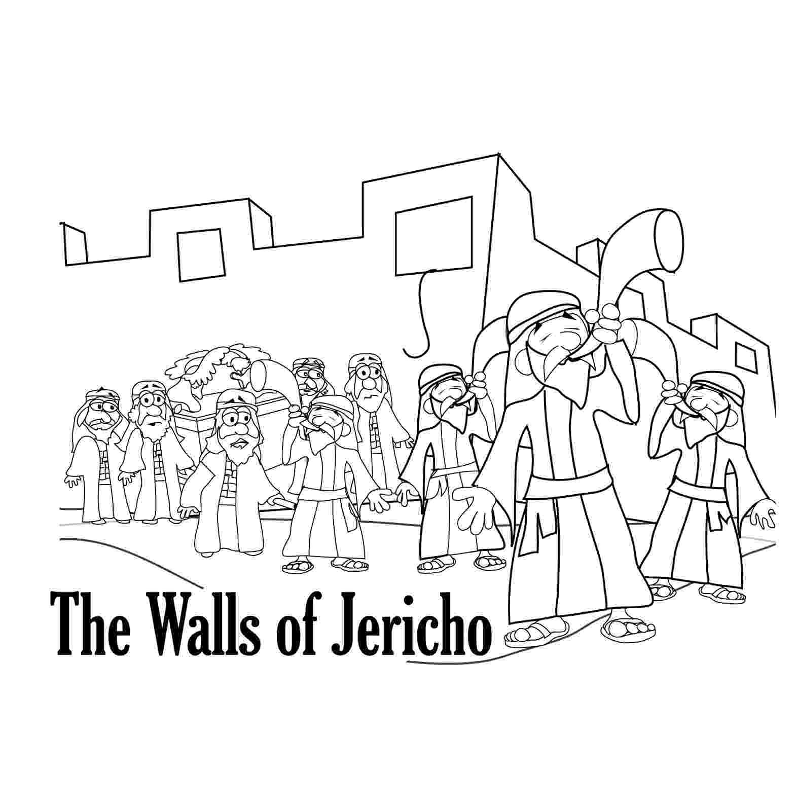 battle of jericho coloring page bible joshua jericho on pinterest bible coloring jericho page of coloring battle