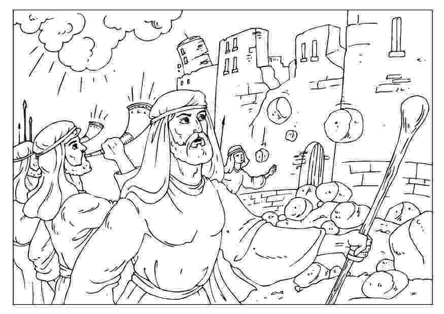 battle of jericho coloring page coloring pages battle of jericho coloring home battle page coloring of jericho