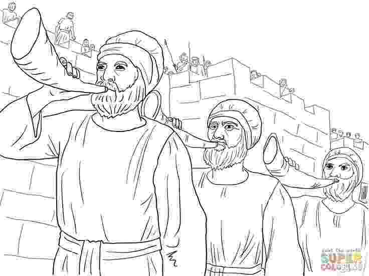 battle of jericho coloring page jericho coloring page sundayschoolist battle coloring page jericho of