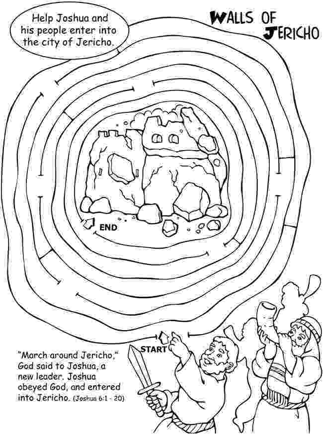 battle of jericho coloring page jericho coloring page sundayschoolist jericho coloring page battle of