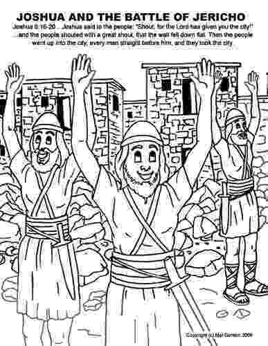 battle of jericho coloring page joshua and the wall of jericho coloring pages coloring home jericho page of battle coloring