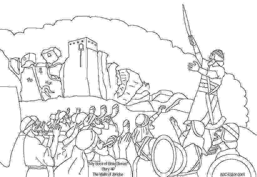 battle of jericho coloring page shining inspiration walls of jericho coloring page sheet battle coloring of page jericho