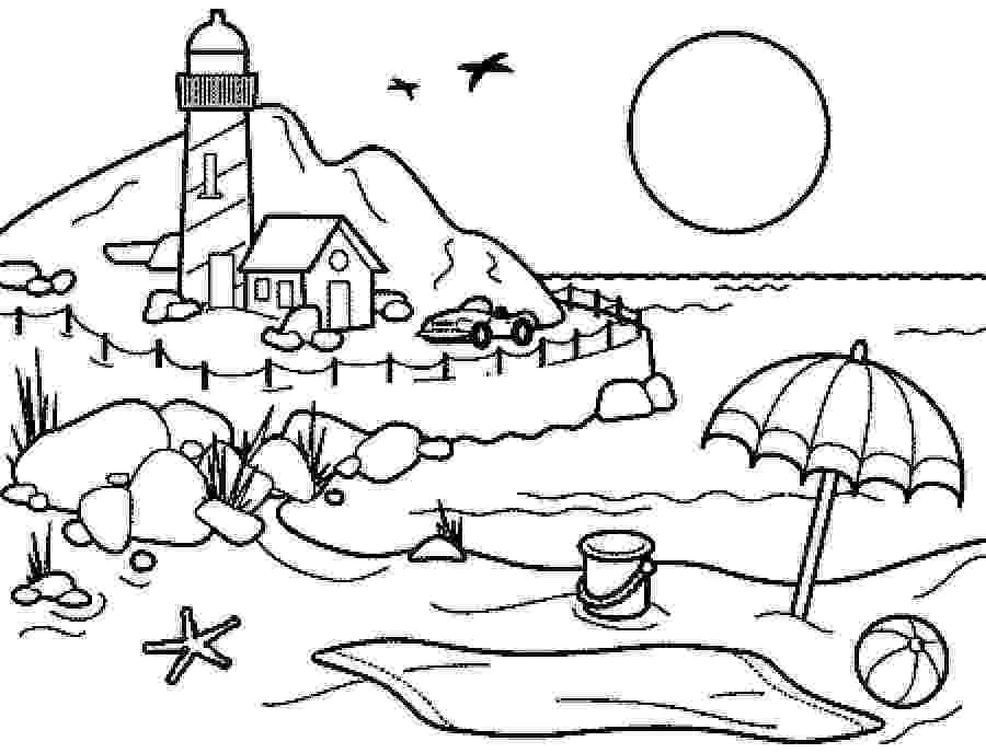 beach coloring pages beach coloring pages to download and print for free coloring pages beach