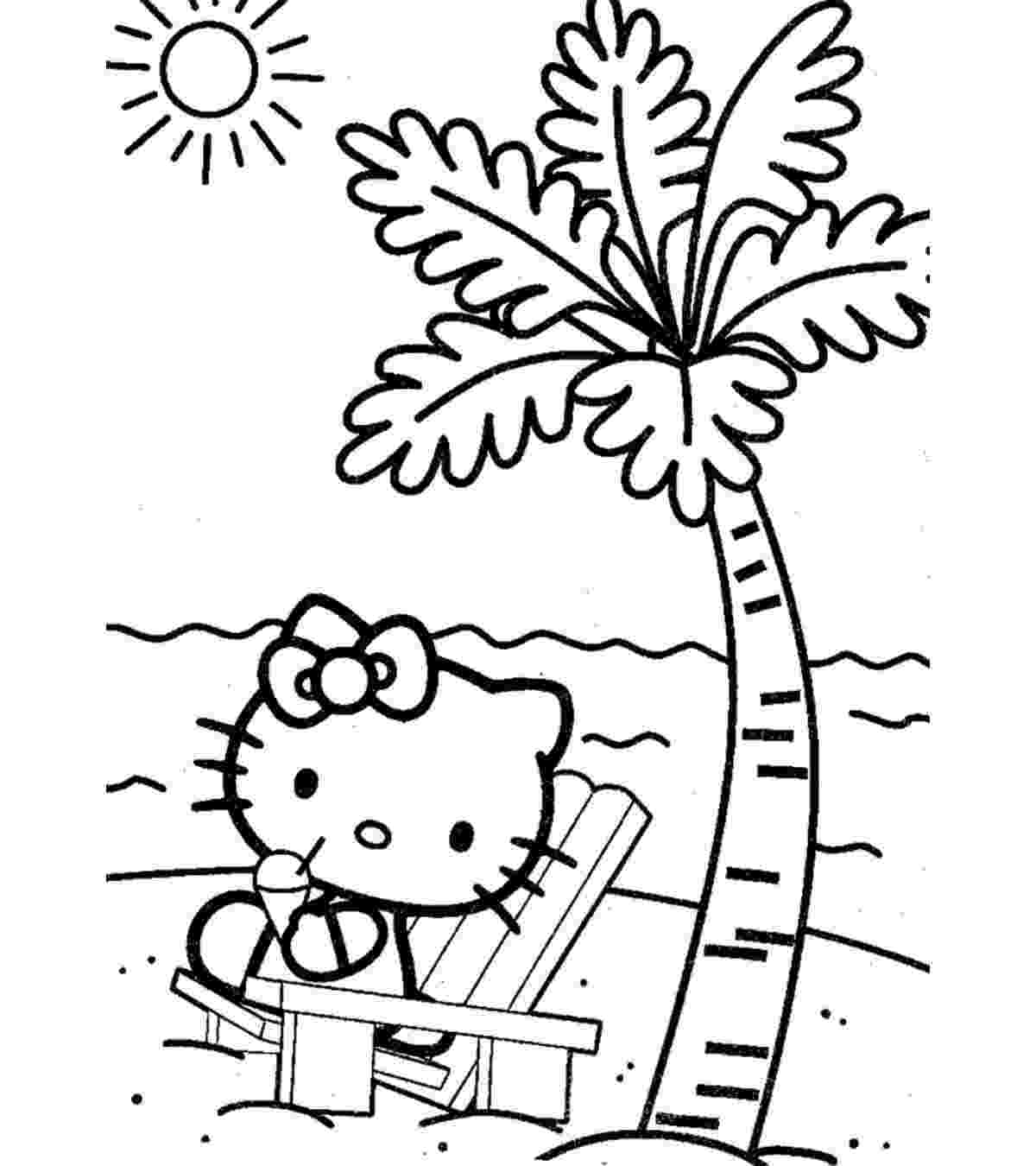 beach coloring pages beach scene coloring pages getcoloringpagescom pages beach coloring