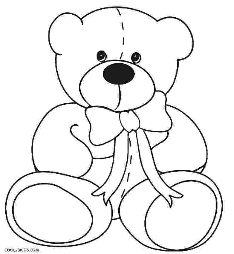 bear pictures to color free printable care bear coloring pages for kids bear pictures to color