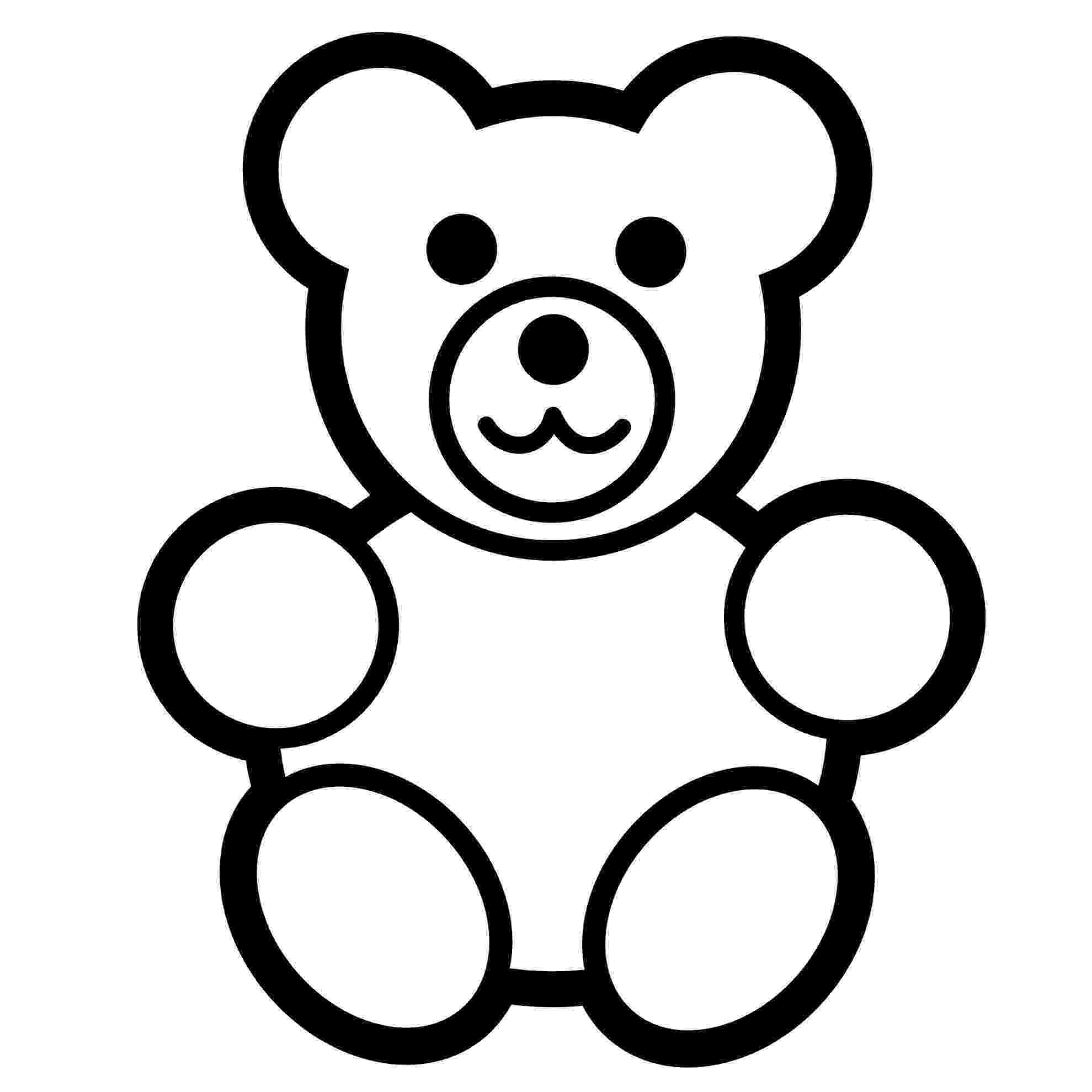 bear pictures to color free printable teddy bear coloring pages for kids bear to pictures color