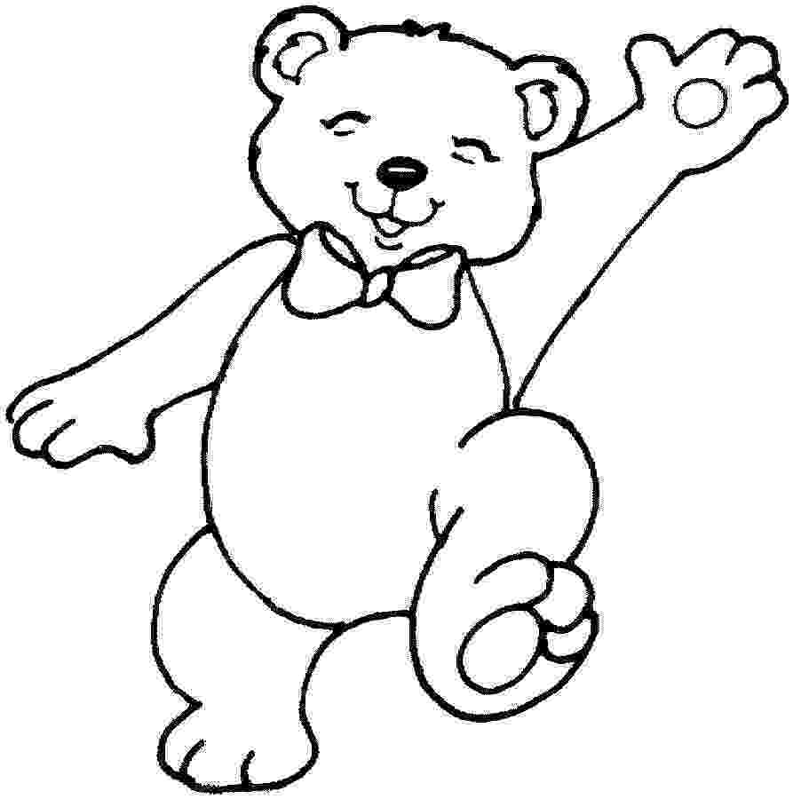 bear pictures to color free printable teddy bear coloring pages for kids to color bear pictures