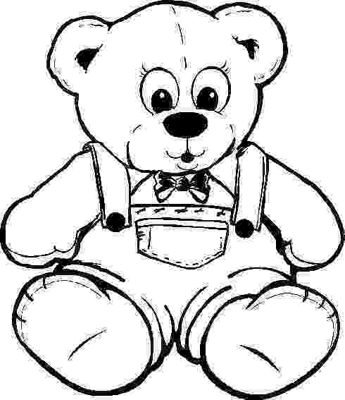 bear pictures to color teddy bear coloring pages gtgt disney coloring pages to bear color pictures
