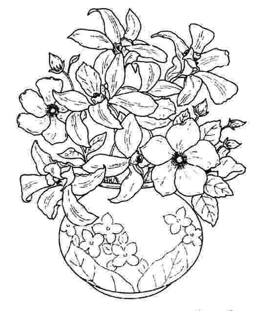 beautiful flowers coloring pages beautiful flowers in a beautiful flowering vase coloring beautiful flowers coloring pages