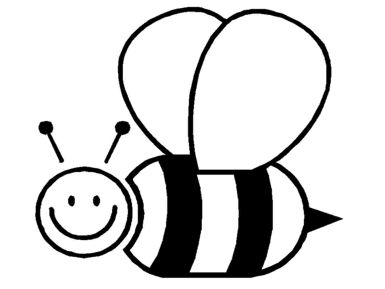bee coloring sheet bee coloring pages kindergartenpng 1134881 bee bee sheet coloring bee