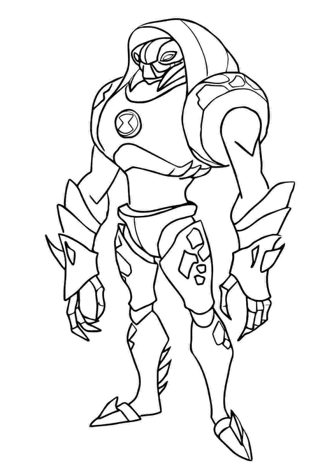 ben 10 print ben 10 coloring pages free printable coloring pages 10 ben print