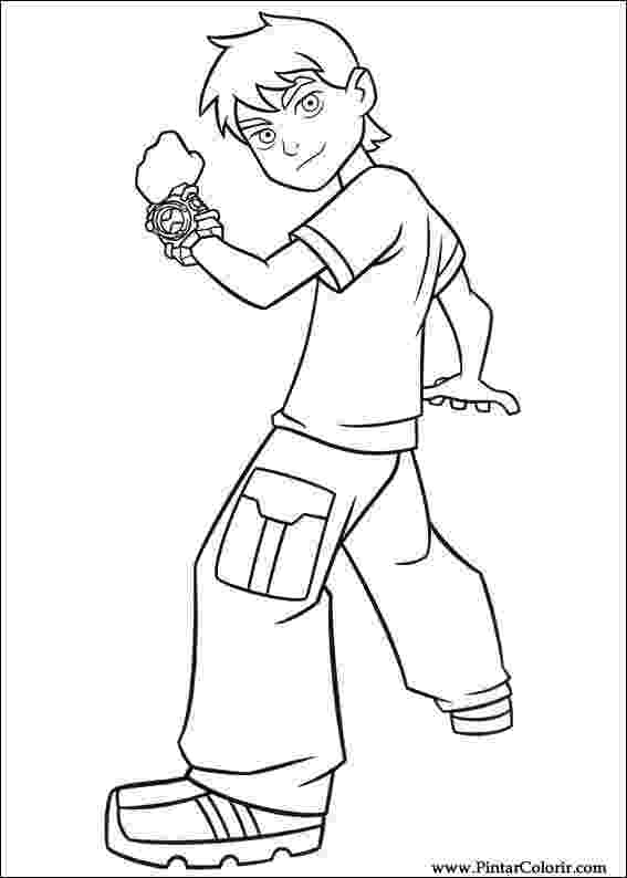 ben ten painting ben 10 coloring pages 20 free printable for little ones ten painting ben