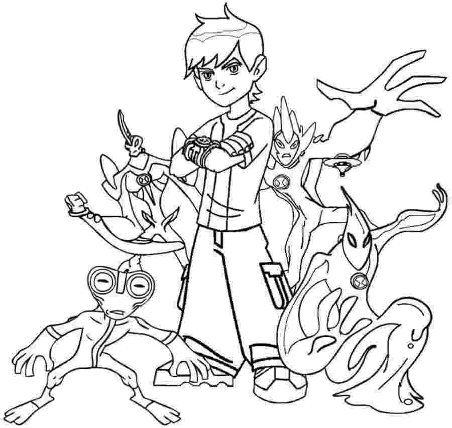ben10 colouring ben 10 alien force coloring pages swampfire coloring home ben10 colouring