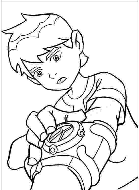 ben10 colouring free printable ben 10 coloring pages for kids ben10 colouring 1 1