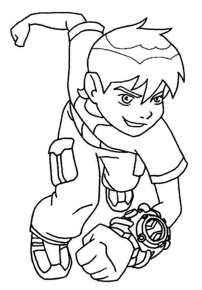 ben10 colouring free printable ben 10 coloring pages for kids colouring ben10 1 1