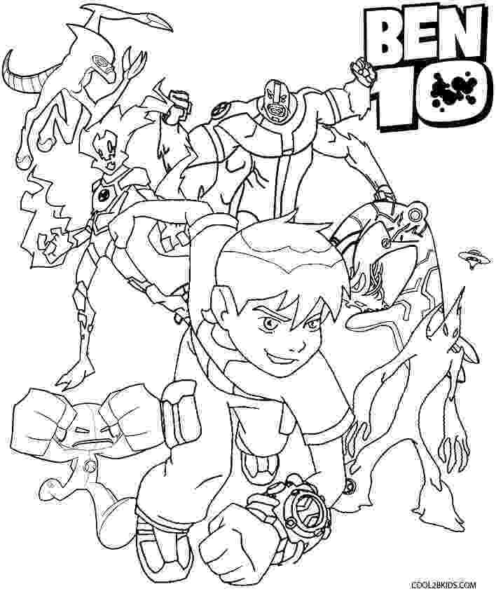 ben10 colouring printable ben ten coloring pages for kids cool2bkids ben10 colouring