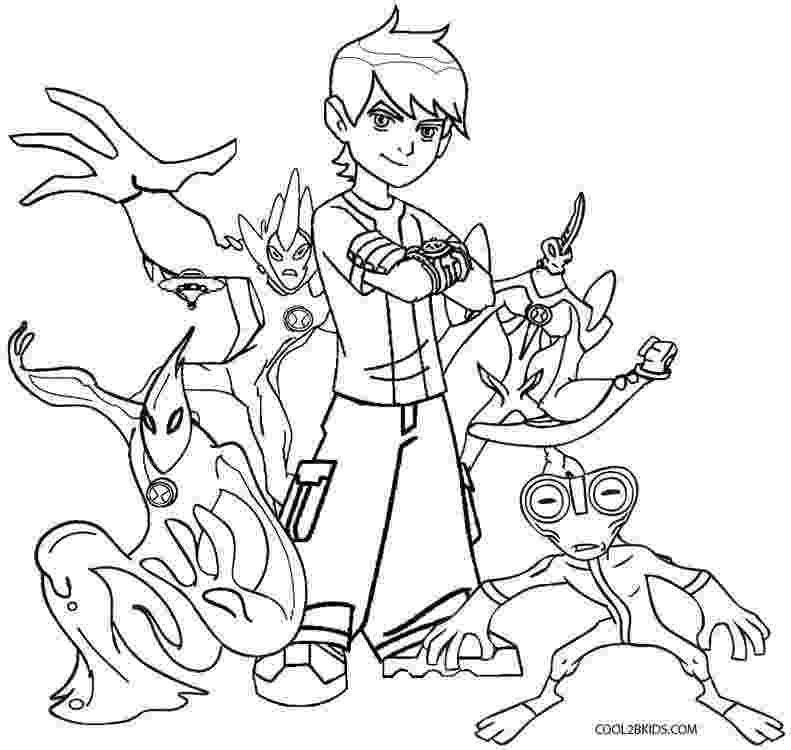 ben10 colouring printable ben ten coloring pages for kids cool2bkids colouring ben10