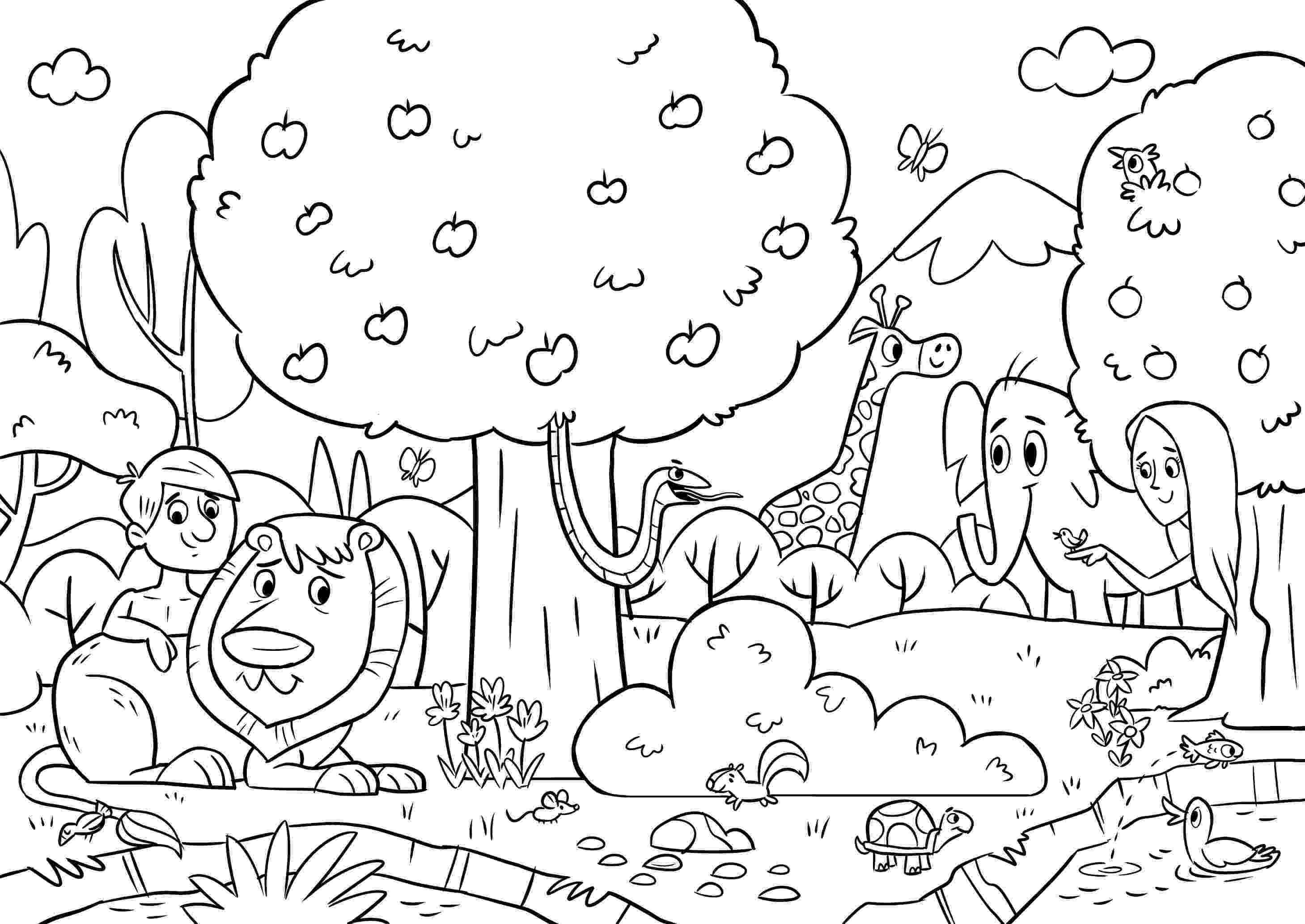 bible coloring pages for 2 year olds in the beginning coloring pages at getcoloringscom free pages year 2 for bible olds coloring