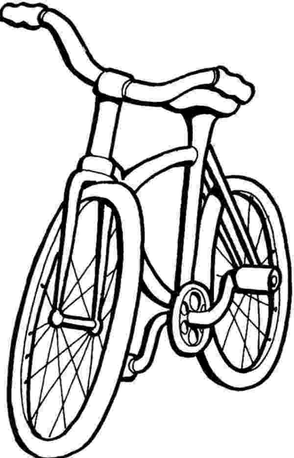 bike coloring pages bicycle drawing images at getdrawingscom free for bike pages coloring