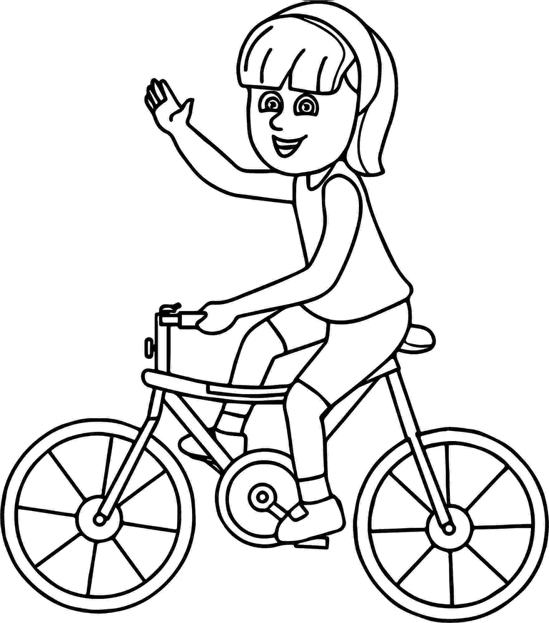 bike coloring pages cycling coloring pages kidsuki pages bike coloring