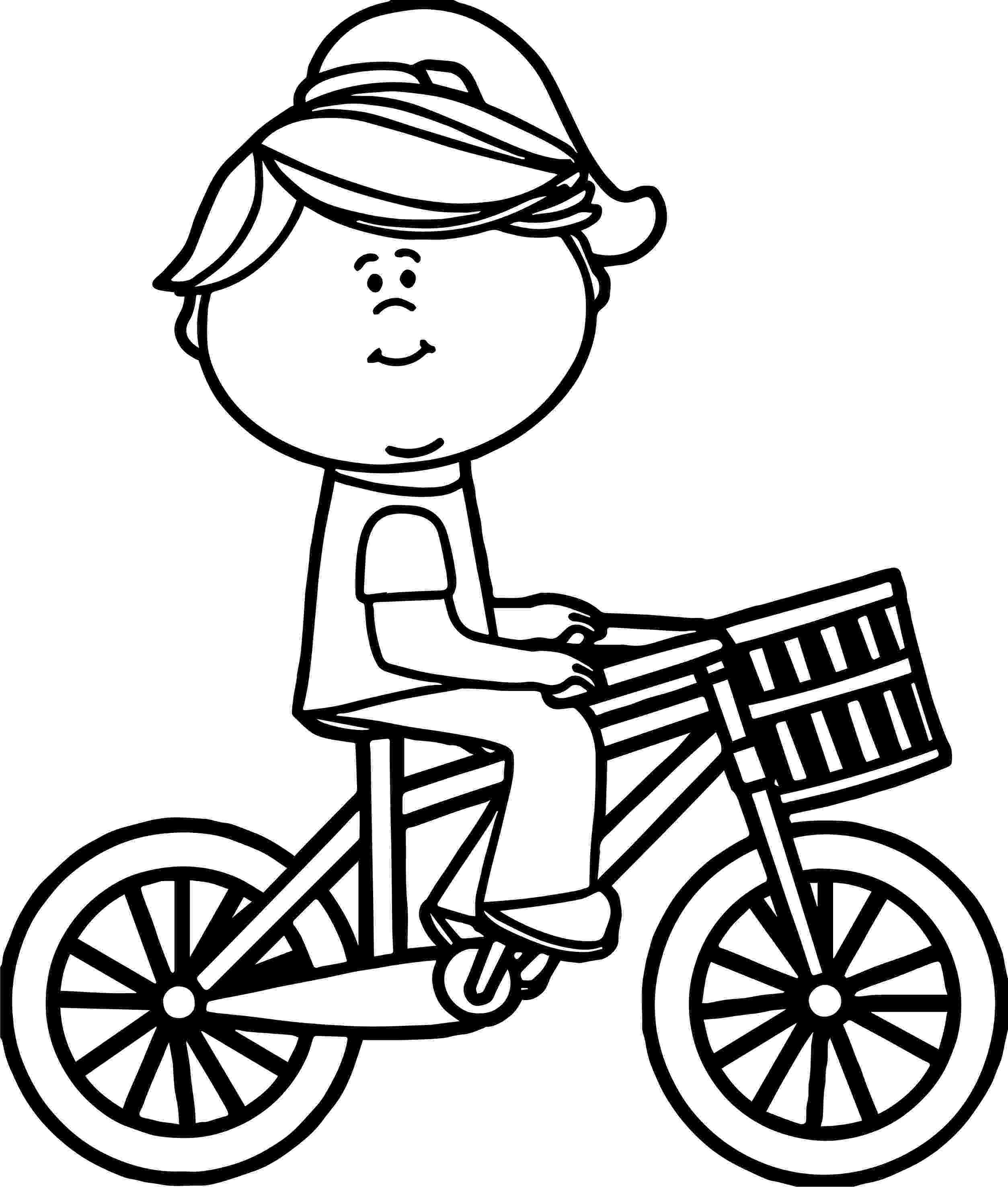 bike coloring pages duck on a bike coloring sheet coloring pages coloring bike pages