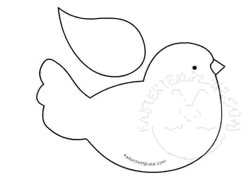 bird printable easter template have fun with free printables easter printable bird