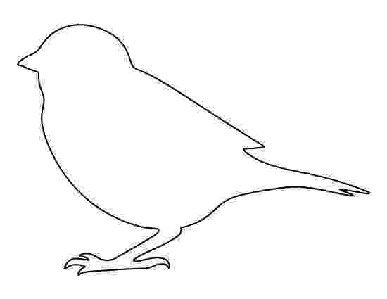 bird printable sparrow pattern use the printable outline for crafts bird printable
