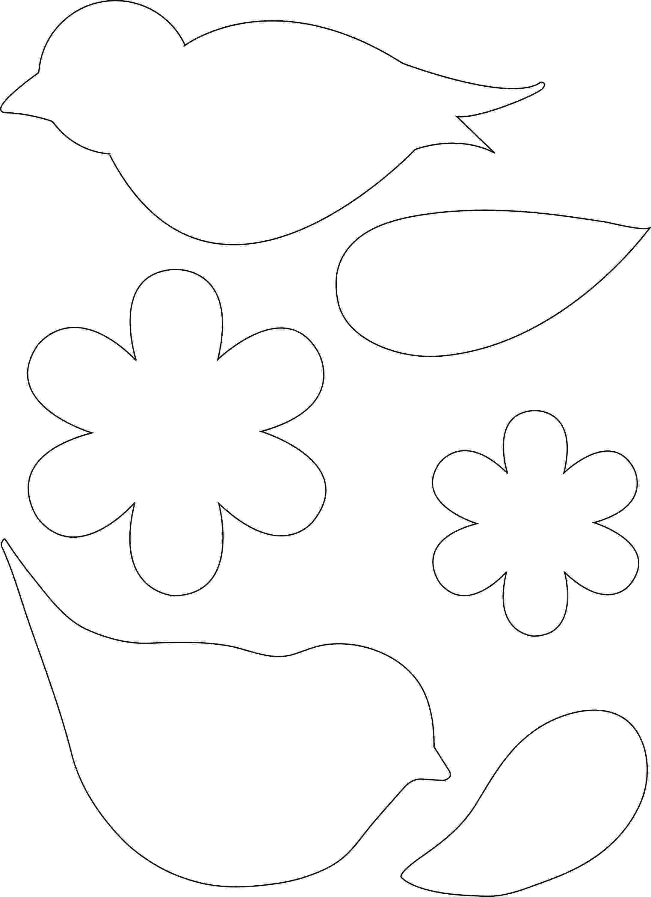 bird printable template pin on bird art bird printable template