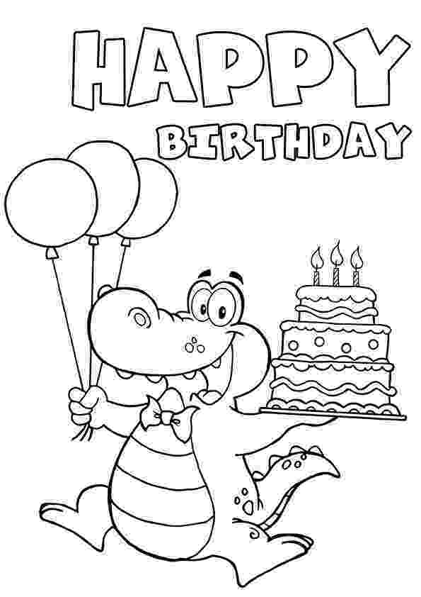 birthday card coloring page card for 4th birthday coloring page for kids holiday coloring birthday card page