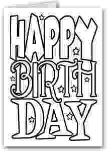birthday card coloring page free printable happy birthday coloring pages for kids card page coloring birthday