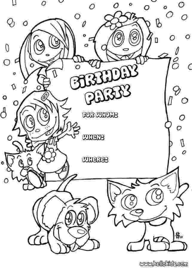 birthday card coloring page free printable happy birthday coloring pages for kids coloring birthday page card