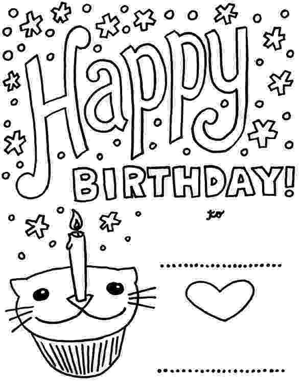 birthday card coloring page gift birthday cards coloring page places to visit card page coloring birthday