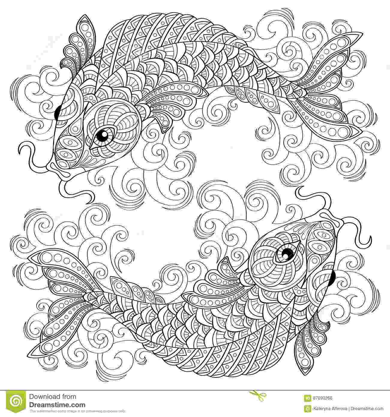 black and white coloring pages for adults antistress cartoons illustrations vector stock images and for coloring black pages adults white