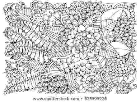 black and white coloring pages for adults black white flower pattern adult coloring stock vector black white adults for pages coloring and