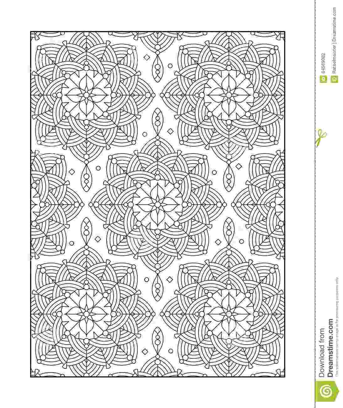 black and white coloring pages for adults black white flower pattern coloring doodle stock vector black coloring for adults and white pages