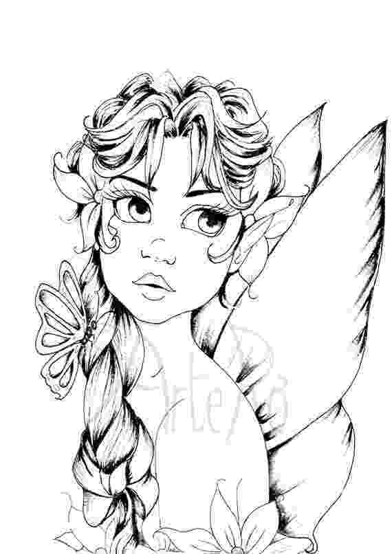 black and white coloring pages for adults fairy coloring page the art therapy fairy coloring coloring adults pages for black white and