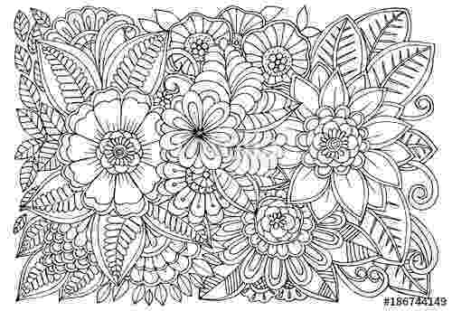 black and white coloring pages for adults quotblack and white flower pattern for adult coloring book coloring for adults and white pages black