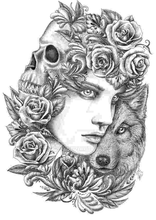 black and white coloring pages for adults wolf 2 by fnigen adult coloring coloring pages white adults black for coloring pages and
