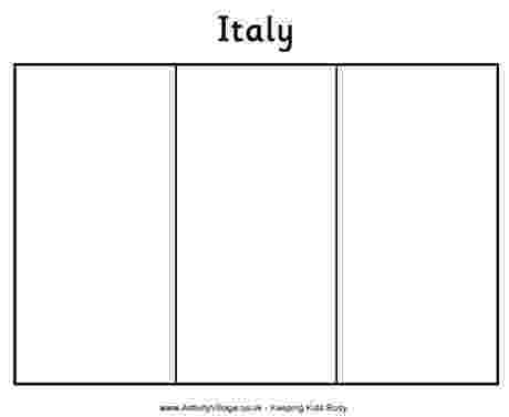 blank italian flag flags of the world italy kidspot blank flag italian