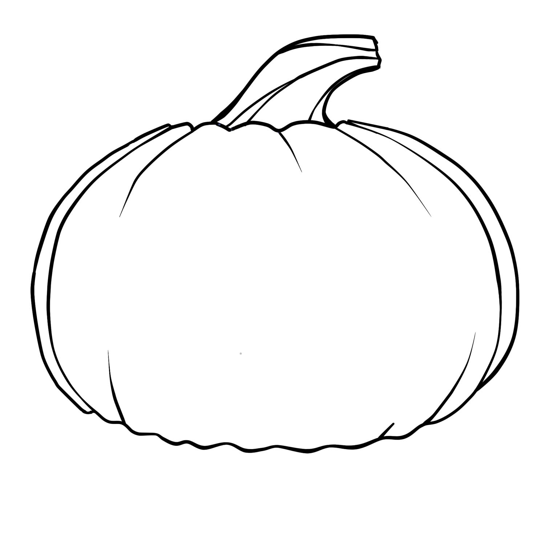 blank pumpkin blank pumpkin with leaves coloring page free printable pumpkin blank