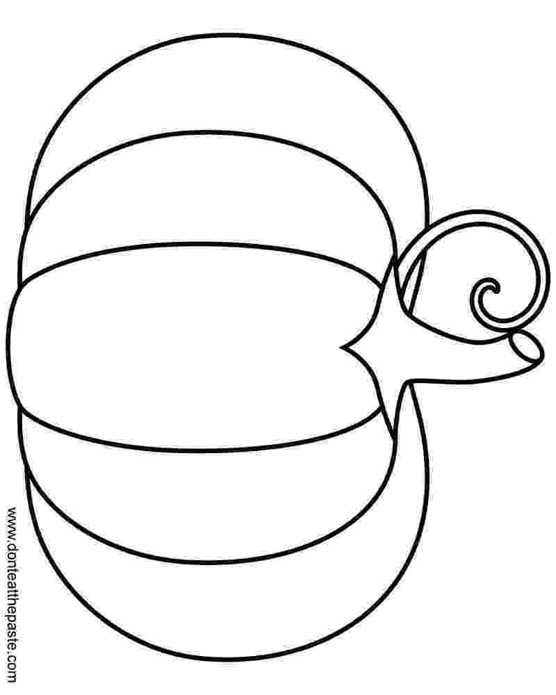 blank pumpkin free printable pumpkin coloring pages for kids pumpkin blank