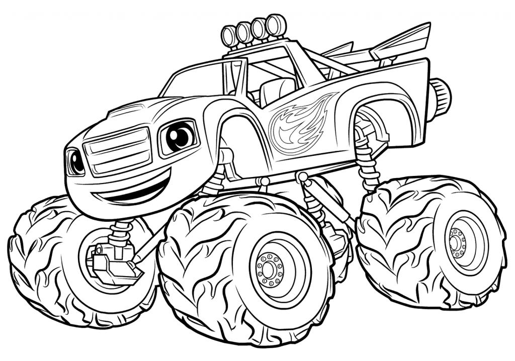 blaze monster truck nieuw kleurplaat blaze and the monster machines krijg truck blaze monster
